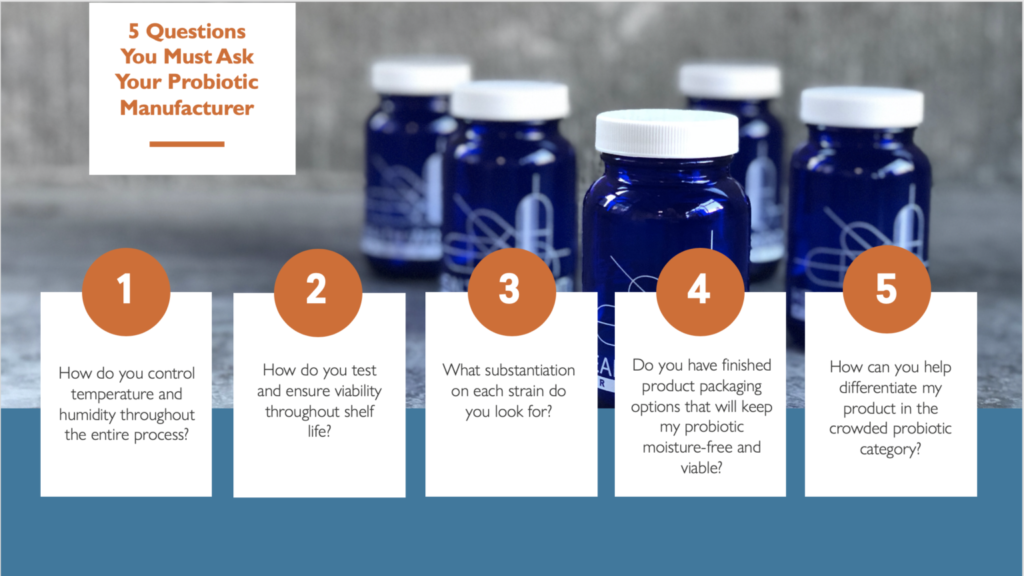 HWP 5 Questions to ask probiotic manufacturer