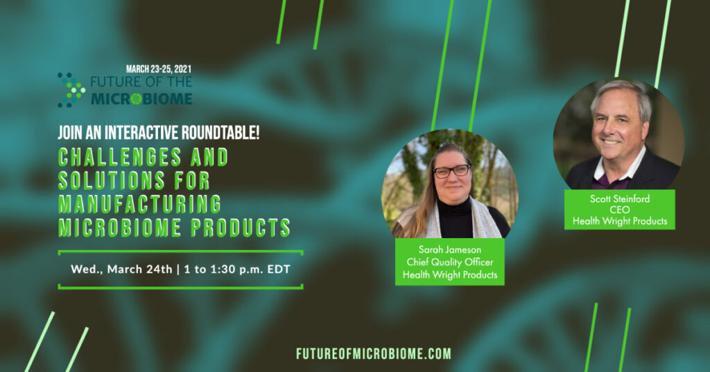 Health Wright Products Roundtable